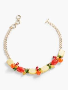 Talbots: Fruit Medley Necklace