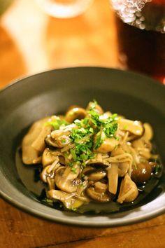 やみつききのこのマリネ【レシピ】|Yoshiko Sullivanの素敵なBoston Life