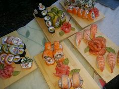 Especial sushi