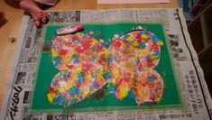 1歳児のお絵描き Diy And Crafts, Crafts For Kids, Galaxy Art, Handmade Toys, Outdoor Blanket, Teaching, Painting, Art, Crafts For Children