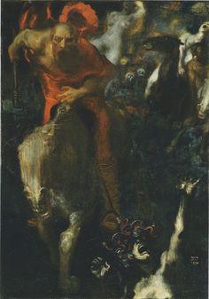 History of Modern Art: Symbolism - Franz von Stuck Wilde - Jagd