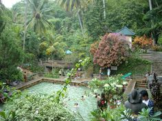 Hot spring water in Banjar village, Buleleng regency - Bali Hello Travel