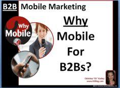 B2B Mobile Marketing: Why Mobile for B2B Companies?