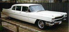1965 Cadillac Limousine (Right Hand Drive). www.midnightrunlimo.com #personalchauffeur #privatedriver #orangecountylimo