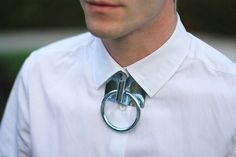 Hitch ring necklace by Bond Hardware...IMG_6047 by princepelayo, via Flickr