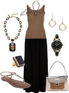 LOLO Moda: Trendy Maxi Skirts 2013