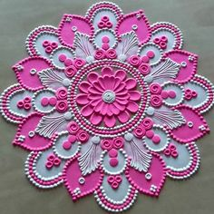 Diwali Special Rangoli Design, Easy Rangoli Designs Diwali, Rangoli Designs Latest, Simple Rangoli Designs Images, Rangoli Designs Flower, Free Hand Rangoli Design, Rangoli Border Designs, Small Rangoli Design, Rangoli Patterns