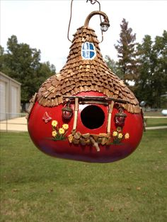 Pin Gourd Crafts For The Holidays Garden Based Learning . Decorative Gourds, Hand Painted Gourds, Recycled Crafts, Diy And Crafts, Arts And Crafts, Gourds Birdhouse, Gourd Art, Nature Crafts, Garden Crafts