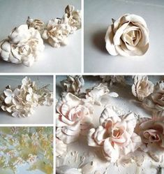 Plaster of Paris is a fun medium to work in. A liquid become a solid in a few short minutes and you get to decide how to form it. There are endless ways to incorporate plastered artificial flowers …