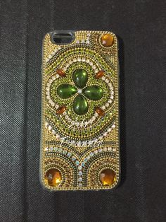 Case iPhone strass by @adritrannin