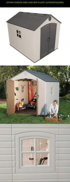 Lifetime Storage Shed 6405 8x10 Plastic Outdoor Building #gadgets #outdoor #racing #storage #products #kit #camera #shopping #tech #drone #8x10 #technology #sheds #plans #& #fpv #parts