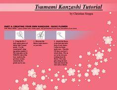 Kanzashi Tutorial - Part 4 by ~Kurokami-Kanzashi on deviantART