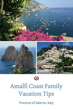 Planning a Family Vacation on Italy�s Amalfi Coast