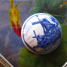 Delftware Porcelain Box - Vintage