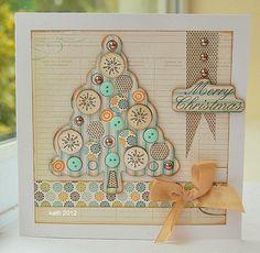 sizzix hero arts merry christmas tree   Kath's Blog.....diary of the everyday…