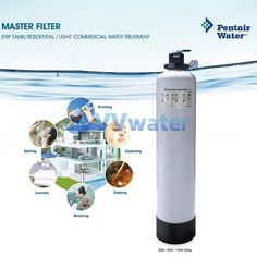 "Pentair 942Grey Pentair FRP Master Filtration System 09""42"""