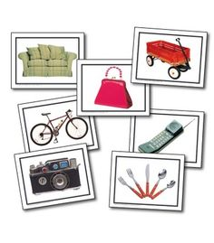 Nouns: Everyday Objects Learning Cards - Carson Dellosa Publishing Education Supplies
