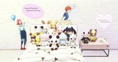 """dominationkid: """"  ❣ RANDOM ❣  Hyperdimension Neptunia Victory Toy Dolls                  posed + converted by dominationkid the toy dolls were originally from psp game hyperdimension neptunia victory, exported by Random Talking Bush from the models..."""