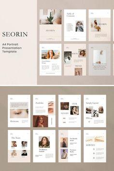 Seorin A4 Portrait - Google Slide