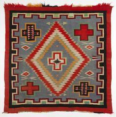 Circa 1890, wool, 68.5'' H x 67'' W, est:$7500/10,000.