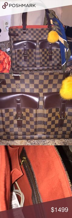 Louis Vuitton Uzes Excellent condition LV Uzes Excellent condition outstanding outside 8,9/10 if not a not too many flaws the straps are beginning to show useage   Interior has been well loved by owner a few not very notable markings on lining  No ⭕️Trade Final price twenty percent price cut   From a pet free smoke free home happy poshing cheers I'm a five star seller with next or same day shipping 🛳all purchased items go directly to Posh Concierge Date Code MB 1023 Made in Paris 🇫🇷…