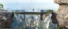 Trung Quốc không chỉ được biết đến là vùng đất có nhiều danh lam, thắng cảnh tuyệt đẹp mà còn là nơi sở hữu nhiều công trình kiến trúc lạ mắt. Mới đây, chính quyền tỉnh Hồ Nam lại khiến nhiều du khách ngỡ ngàng khi quyết định xây một cây cầu trong suốt, bắc ngang dãy núi Trương Gia Giới nổi tiến...  http://cogiao.us/2016/12/17/cay-cau-tang-hinh-noi-giua-hai-ngon-nui-cao-chot-vot/
