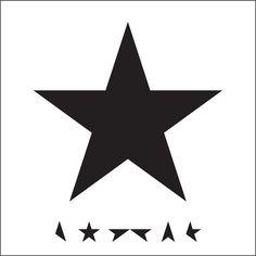 David Bowie's album Blackstar  ★ – CD Cover. Designer Jonathan Barnbrook