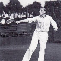 Roderich Menzel 1907 - 1987 amateur tennis player and, after his active career, an author.