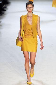 Akris Spring 2013 Ready-to-Wear Fashion Show - Marine Deleeuw (Elite)