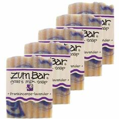 Frankincense And Lavender Zum Bars Multipack (5 Count) by Indigo Wild  #Indigo_Wild #Beauty