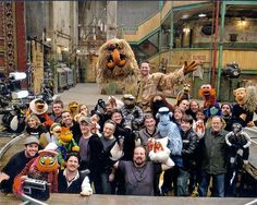 Behind the scenes. Or rather under the scenes of the Sesame Street Puppets, The Muppets Characters, Jim Henson Puppets, Start Trek, Fraggle Rock, The Muppet Show, Nyan Cat, Puppet Show, Miss Piggy