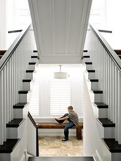 stairs lift to reveal secret room. sweet!