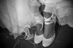 zapatos novia con lazos