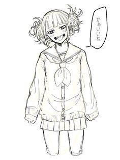 Boku no Hero Academia Boku No Academia, Buko No Hero Academia, My Hero Academia Memes, Hero Academia Characters, Anime Characters, Cool Animes, Himiko Toga, Manga Anime Girl, Hero Girl