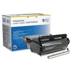 Elite Image Remanufactured High Yield Toner Cartridge Alternative For Lexmark Optra S
