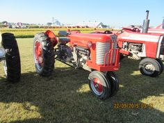 Massey Ferguson 50 with Multi Power Antique Tractors, Vintage Tractors, Classic Tractor, Red Pictures, Down On The Farm, Sheds, Antiques, Barns, Old Tractors
