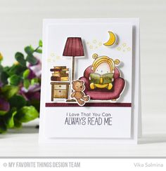Our Story Stamp Set and Die-namics - Vika Salmina  #mftstamps