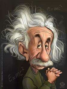 Albert Einstein (Dunway Enterprises) http://www.learn-to-draw.org/caricatures_clb.html?hop=dunway