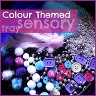 Creative Playhouse: Pretty Colourful Sensory Tray