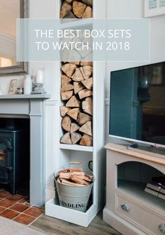 the best box sets to watch in 2018 Most Popular Series, Box Sets, Tv Watch, Lounge Ideas, Caffeine, Fireplaces, Snug, Bbc, Living Rooms