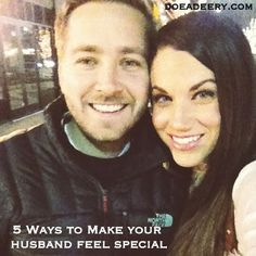 Five Ways to Make Your Husband Feel Special