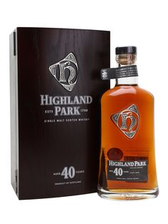 HIGHLAND PARK 40 YEAR OLD, Orkney Islands