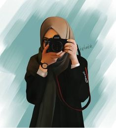 Constable Nadhif - scarf is a vital piece in the apparel of girls having hijab. Disney Sketches, Disney Drawings, Cute Drawings, Drawing Disney, Drawing Sketches, Hijabi Girl, Girl Hijab, Girl Cartoon, Cartoon Art