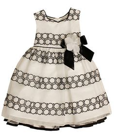 Bonnie Jean Kids Dress, Little Girls Embroidered Circle Dress - Kids Kids Easter Dressing - Macy's