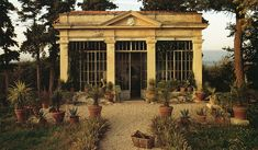 Neo-classical orangerie via the Chateau Domingue blog