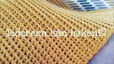 Iedereen kan haken© Woondeken vasten paarsgewijze deken Royal Zeeman (different languages subtitled) - YouTube Knitwear, Plaid, Blanket, Knitting, Youtube, Crochet, Blog, Crafts, Diy