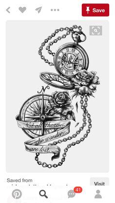 Pocket Watch Tattoo On Hand . Pocket Watch Tattoo On Hand . Broken Pocket Watch Tattoo by tony Nguyen Trendy Tattoos, Tattoos For Guys, Cool Tattoos, Tatoos, Anklet Tattoos, Thigh Tattoos For Women, Half Sleeve Tattoos For Women, Female Tattoo Sleeve, Urban Tattoos