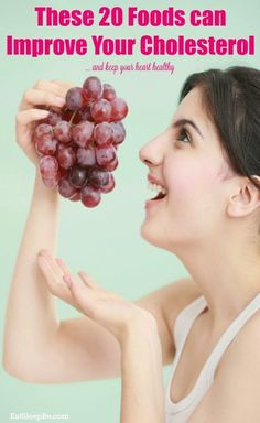 20 foods that can improve your cholesterol levels - and keep your heart healthy! Healthy Diet Tips, Daily Health Tips, Heart Healthy Recipes, Health Advice, Health Care, Health Diet, Healthy Habits, Vegetarian Recipes, Natural Dandruff Remedy