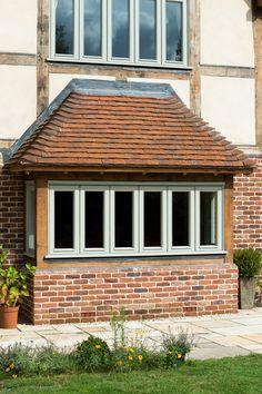 Wimbledon Farmhouse - Border Oak - oak framed houses, oak framed garages and structures.