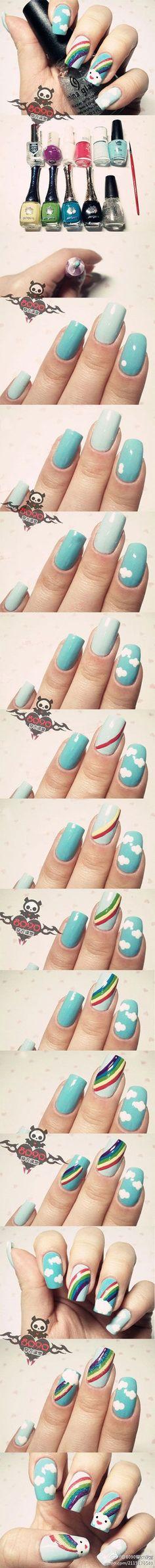 Легкие рисунки на ногтях. Фото идеи. Инструкции. Всё самое интересное.